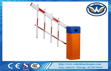 Intelligent Fence Expandable Vehicle Barrier Gate 100% Pure Copper Heavy Duty Motor